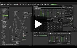 screencast of AudioMulch