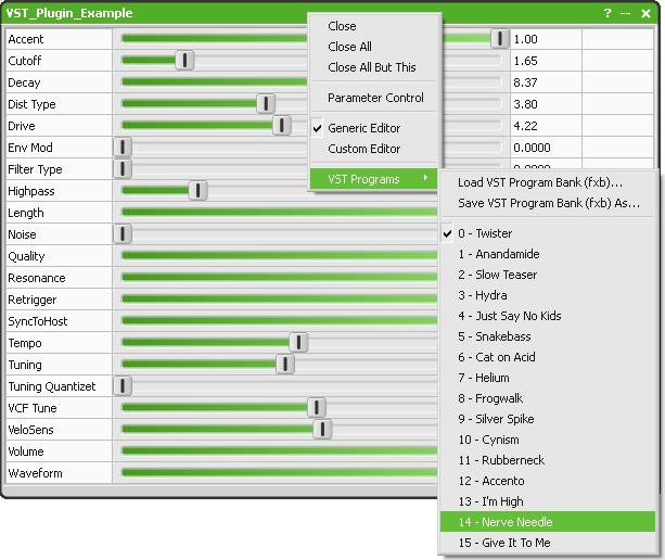 VST Plugins   Help File   AudioMulch